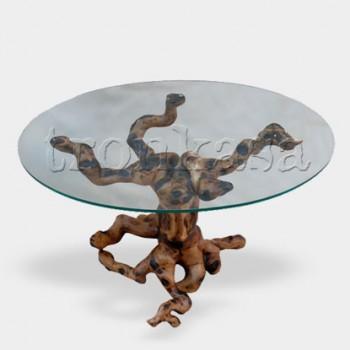 Mesa centro de madera M-04